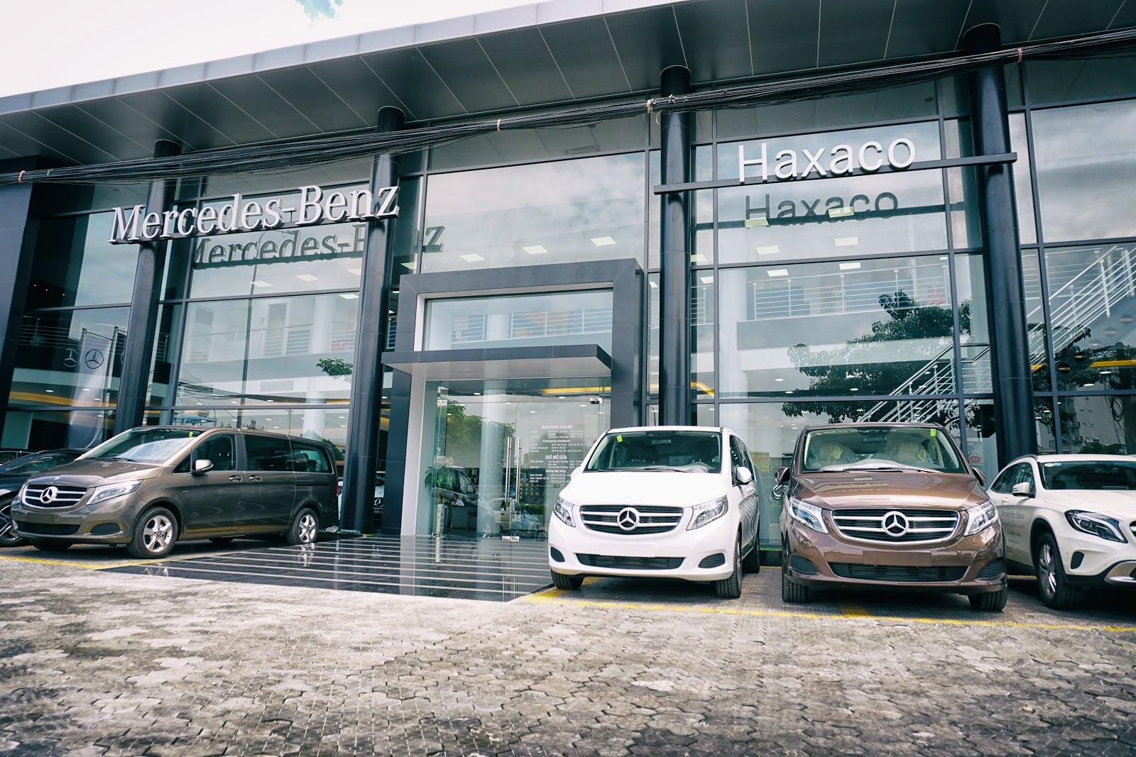Mercedes Benz Haxaco là một trong hai đại lý Mercedes lớn nhất và uy tín nhất hiện nay