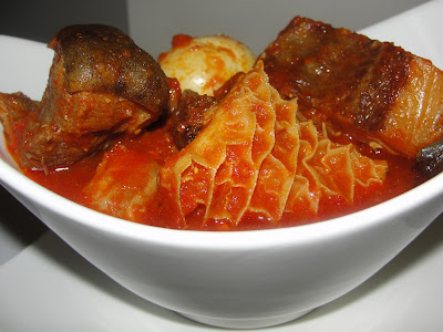 Buka - stew - Nigerian - recipe - obe - ata - yoruba - palm - oil - orishirishi - best - abula - amala  - best - easy - recipe