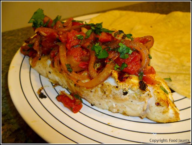 Mayan Style Annatto Marinated Fish