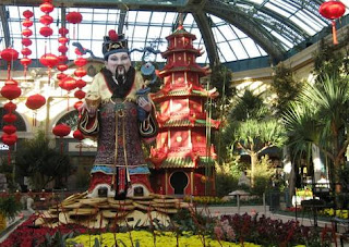 Conservatory and Botanical Gardens at the Bellagio Hotel and Casino