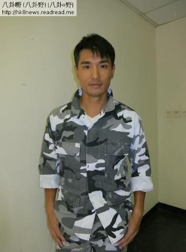 陳展鵬為TVB新劇《巨輪》拍攝節目巡禮