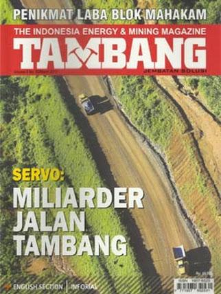 Majalah Tambang Edisi Maret 2013