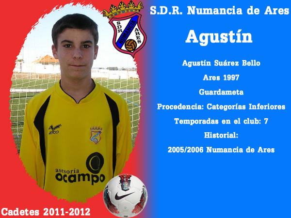 ADR Numancia de Ares. Cadetes 2011-2012. AGUSTIN