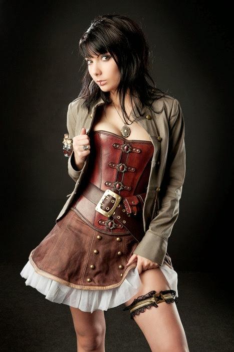 Sexy Steampunk Girl 32