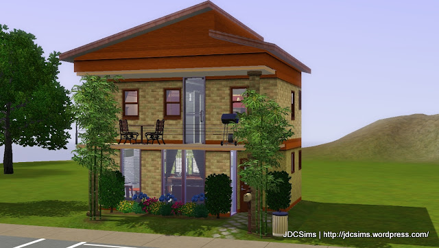 Humble Beginnings, a house built for an iPlaySims.com contest