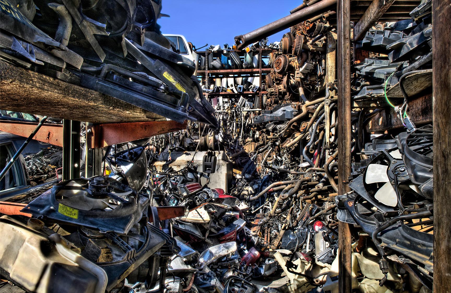 Mo's Junkyard Curse | Hemmings Daily  |Junk Yard