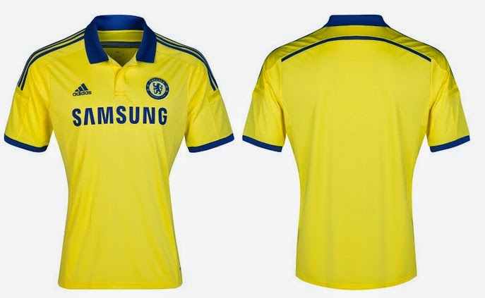 d6bed816d Chelsea 2014-15 Home Away Kit Released - Away Leaked