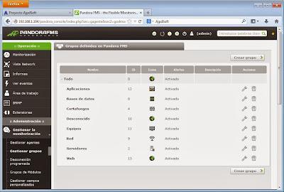 Otras personalizaciones y configuraciones dePandora FMS
