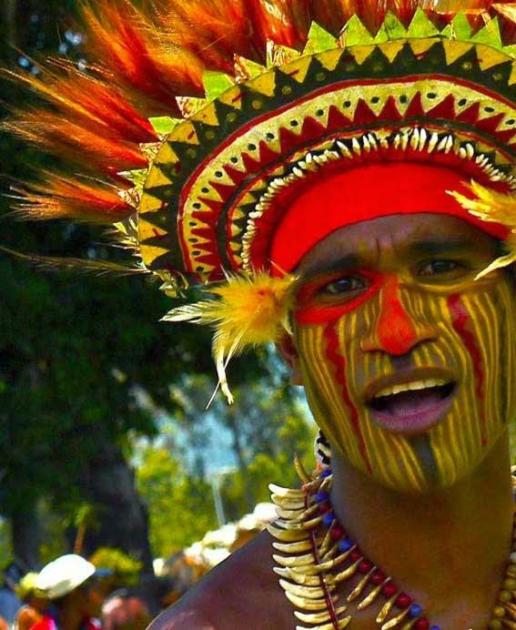 Раскрашенные папуасы