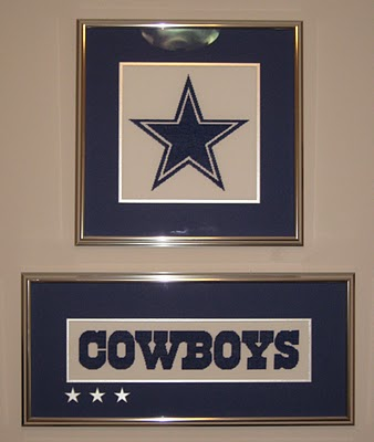 Auntie lolo crafts green eyed girl crafts blog feature for Dallas cowboys arts and crafts