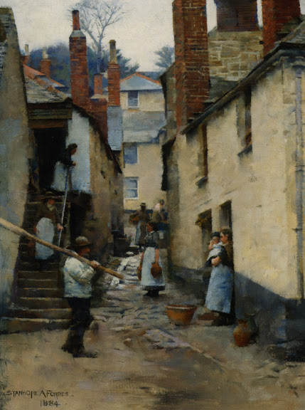 Stanhope Forbes - Old Newlyn