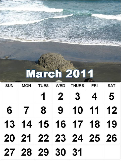 2011 march calendar template. Blank+march+2011+calendar+