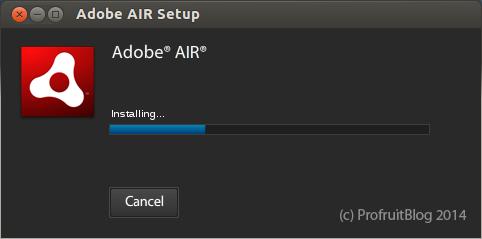Инсталация на AdobeAir в Ubuntu 12.04