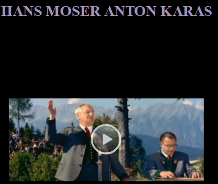 Hans Moser , Anton Karas - legends