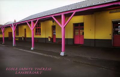 Lambersart Ecole privée maternelle et primaire Sainte Thérèse: préau