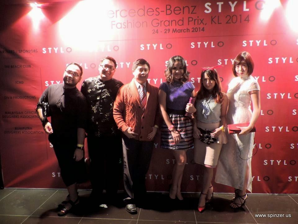 stylo Mercedes-Benz Fashion Grand Prix 2014 shannon chow