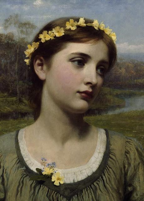 Frank Dicksee - Spring Maiden