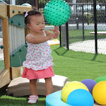 LePort Schools Parent & Child Montessori offers babies playground time each class.