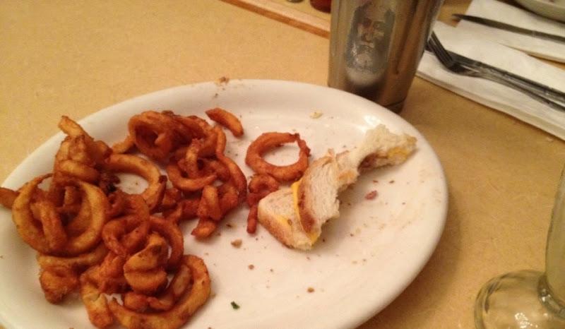 Sightings: Sasquatch in Milkshake with Curly Fries
