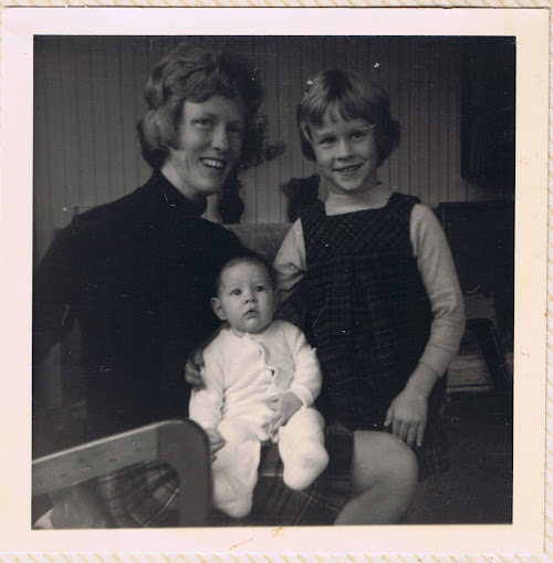 Mum, Big Sister & Me, sometime in the 1970's