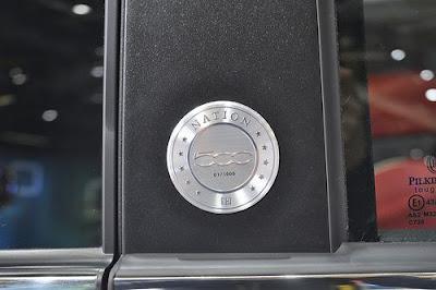 Fiat 500 Nation America Emblem