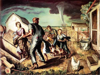 1929, John Steuart Curry, Tornado over Kansas