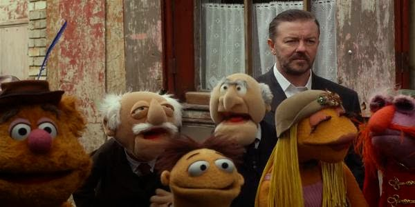 Screen Shot Of Hollywood Movie Muppets Most Wanted (2014) Download And Watch Online Free at Alldownloads4u.Com