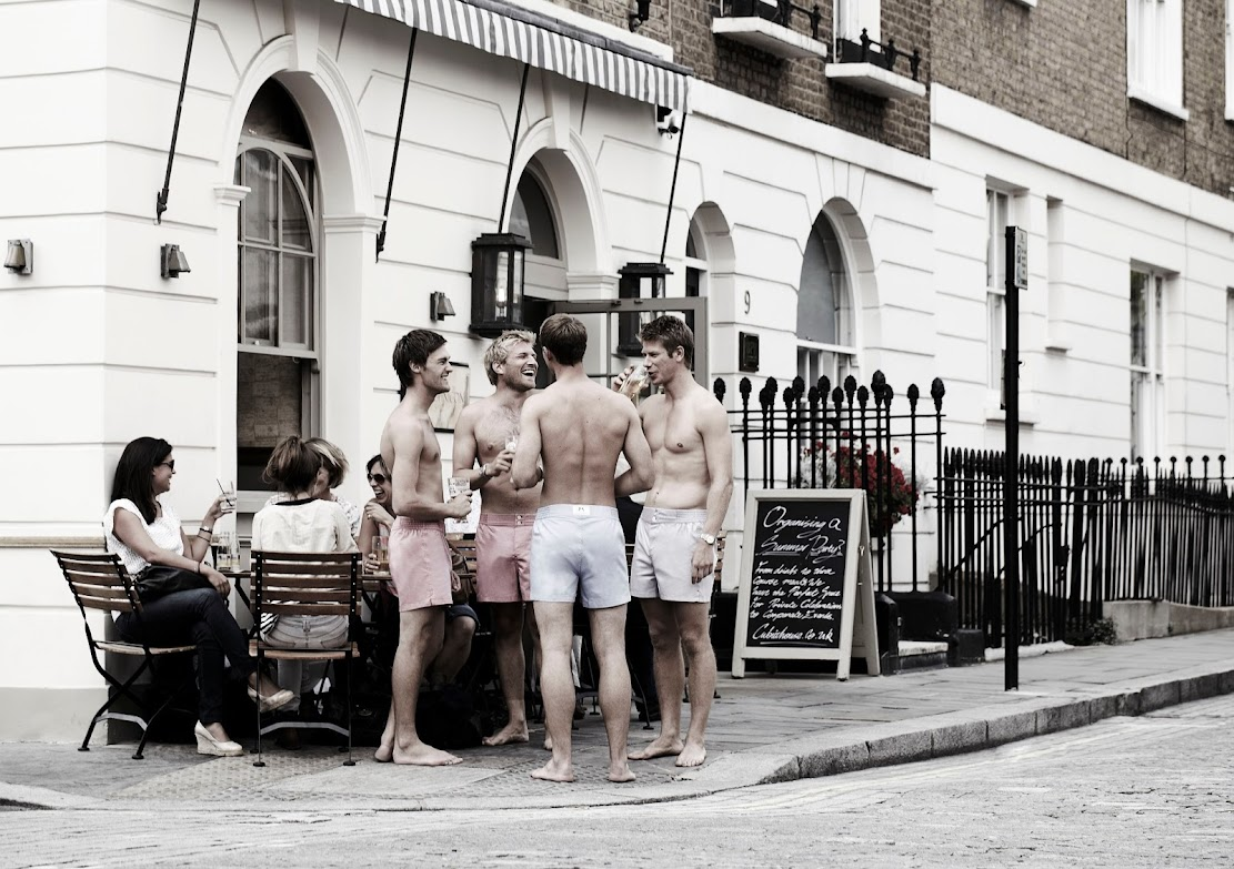 Tailored Boxers by Hamilton & Hare