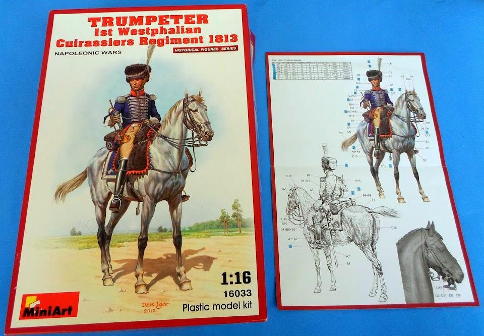 Trumpeter 1st Westphalian Cuirassiers Regiment 1813 MiniArt 1/16 SAM_1786