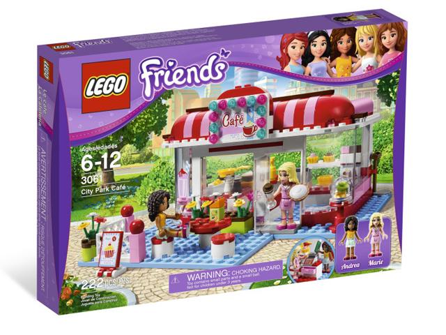 レゴ フレンズ パークカフェ 3061