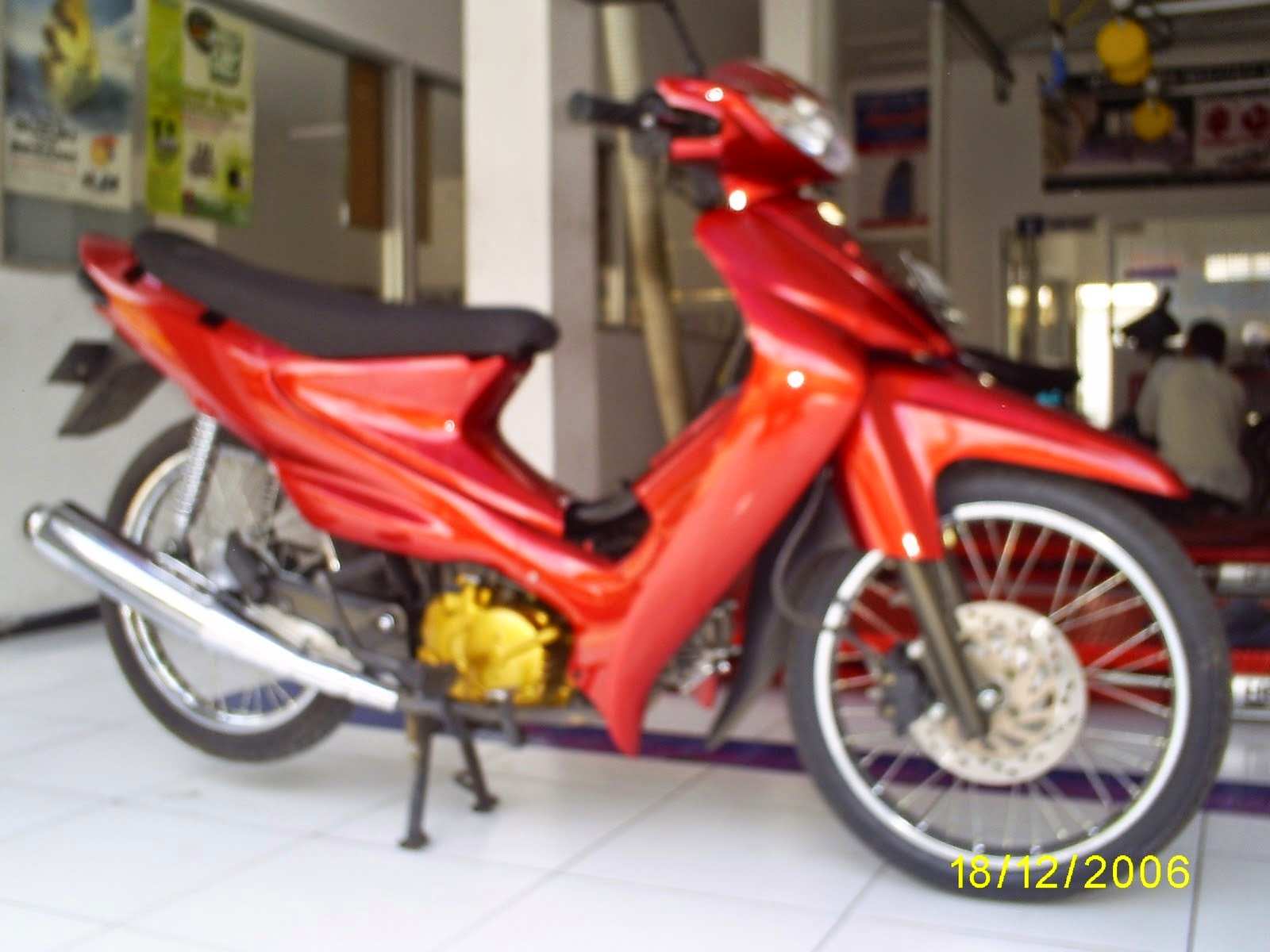 Modifikasi Yamaha Fino Drag