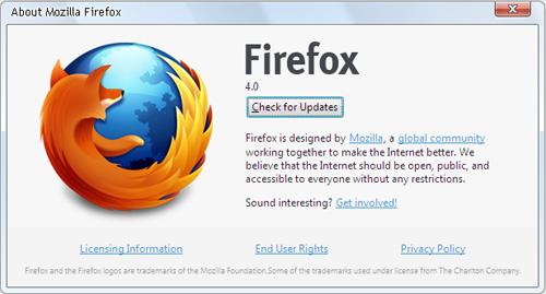 Mozilla Firefox 4 Final