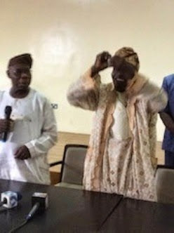 Obasanjo kicked out of PDP as he tears his membership card