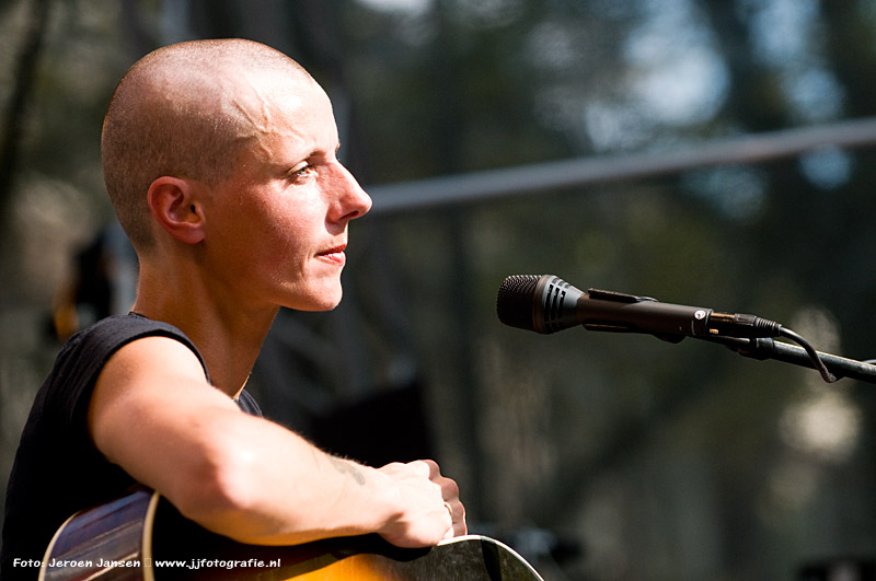 Sarah Bettens (K's Choice) @ The Hague Pride 2011
