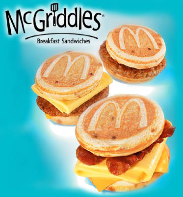 Mcgriddle Cakes Only Nutrition
