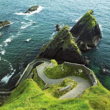 Dingle coast path. From Driving Ireland's Wild Atlantic Way