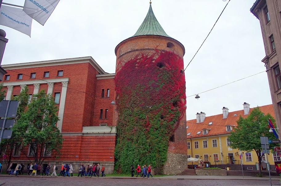 Qué ver en Riga. Torre de la Pólvora