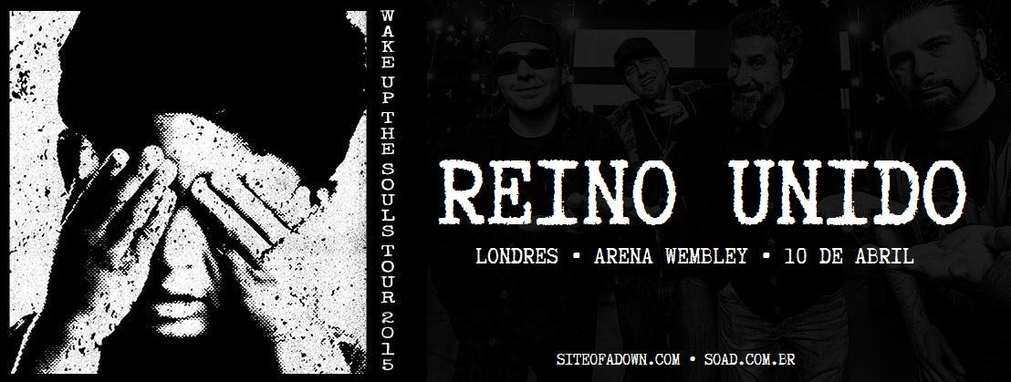Show em Londres, Reino Unido