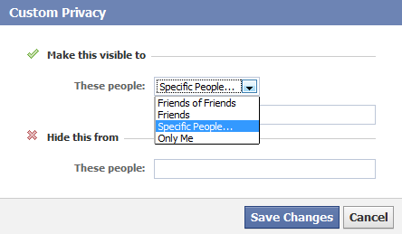facebook-selective-share