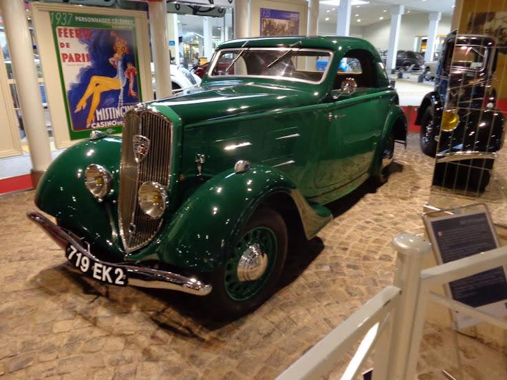 Musée de l'aventure Peugeot à Sochaux DSC01200