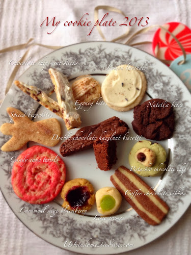 recipe: cookie round up, my 2013 cookie plate!