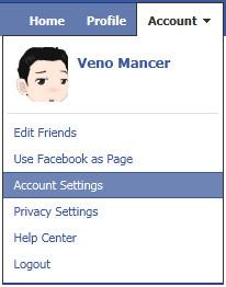 setting peringatan dini akun facebook