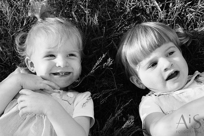 retratos de niños y familia
