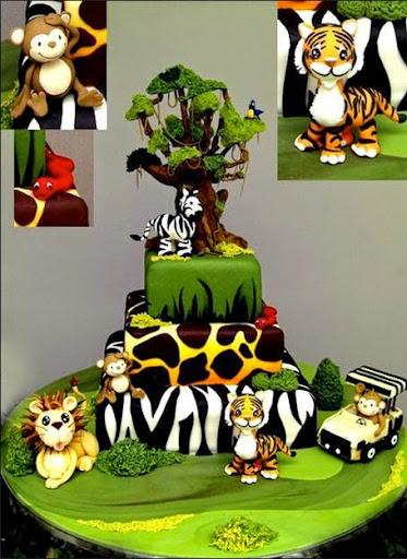 Zoo Birthday Cakes