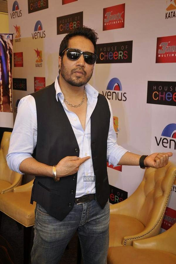 Mika Singh during the launch of music album The Victorian Secrets, in Mumbai, on July 21, 2014. (Pic: Viral Bhayani)