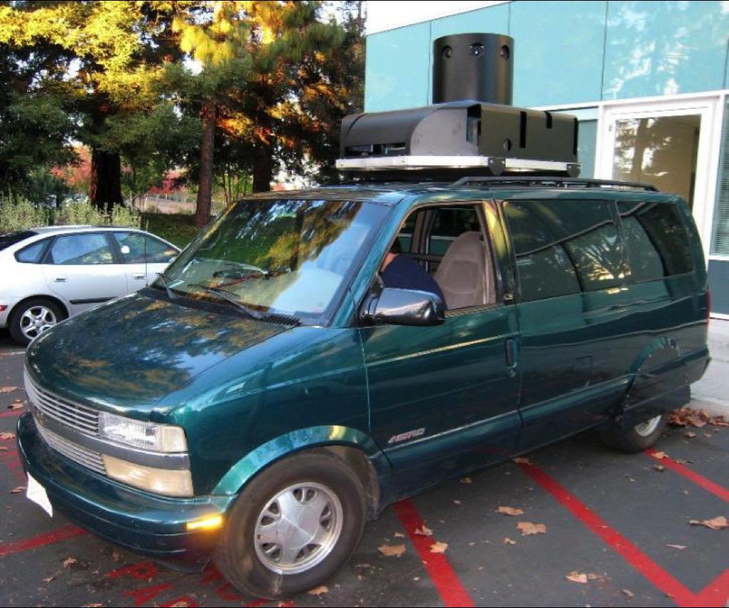 StreetView Van