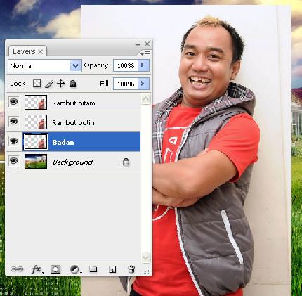 Manipulasi photoshop PSDesain