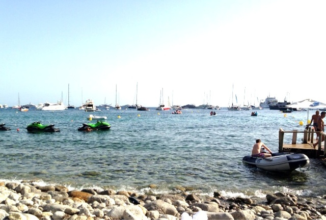 blue marlin ibiza, rocky beach