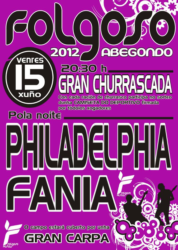 Cartel Festas Folgoso 2012