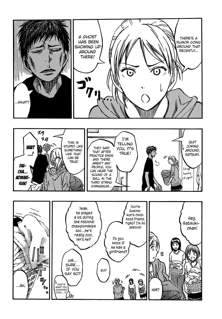 Kuroko no Basket Manga Chapter 205 - Image 08